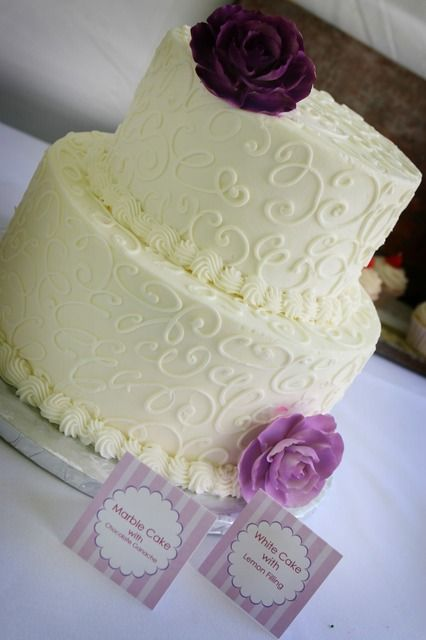 Beautiful Shower Cake